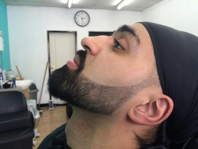 Perfect Fade for Covered Hair
