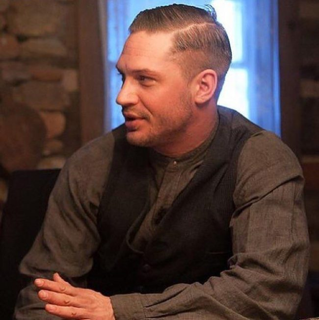 40 Amazing Tom Hardy Haircuts  Looks For You [2017] - Comb Over Hairstyle