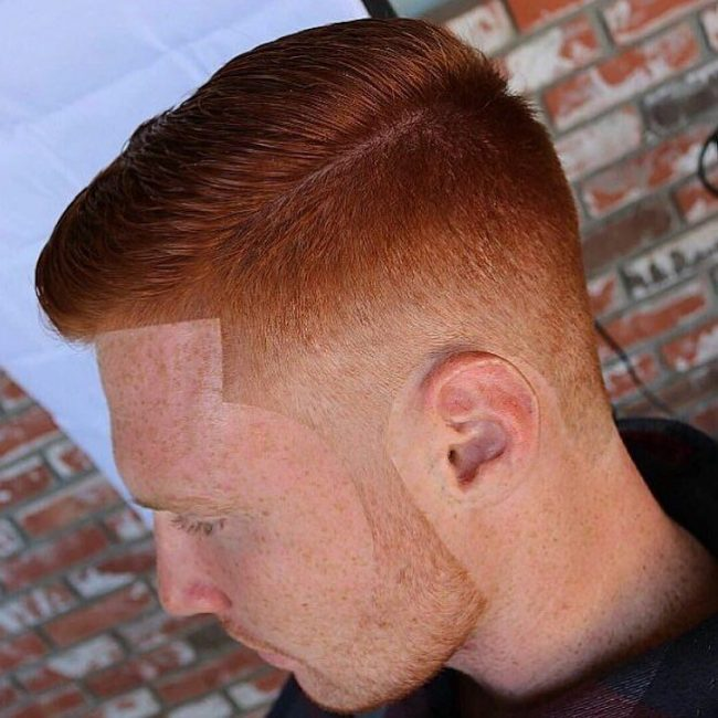 Redhead Combover