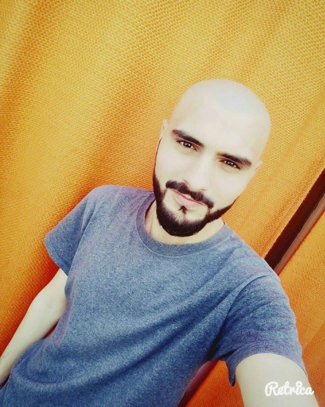 Round Bald Head