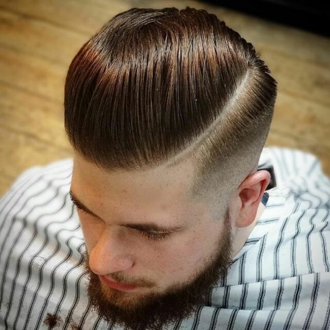 80 Powerful Comb Over Fade Hairstyles - (2019) Comb On Over!