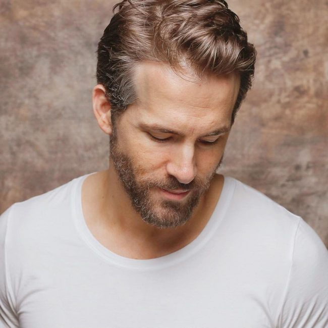 45 Stunning Ryan Reynolds Haircuts Trendy Superhero