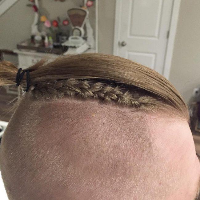 Samirai Hair With a Braided Detail