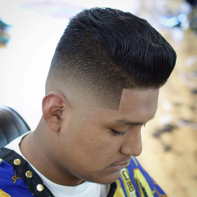 Sharp Fade for Sleek Top