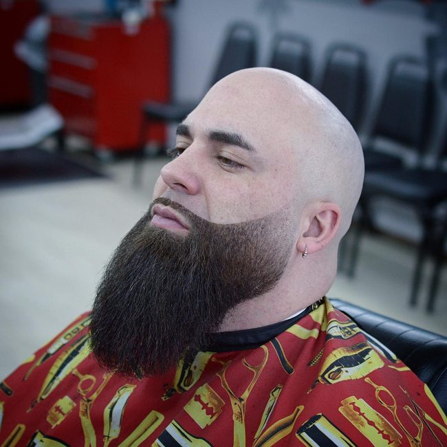 Head hair shaved facial Will You