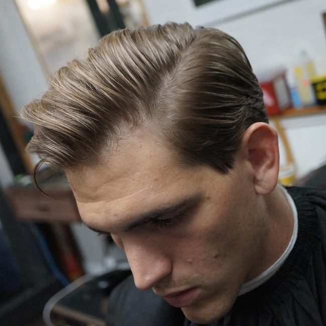 how to get the perfect comb over