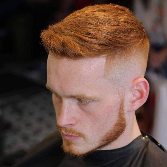 Short Choppy Redhead