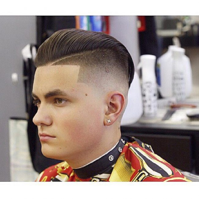 Sleek Combover Undercut