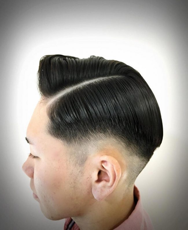 Sleek Tapering and Side Sweep