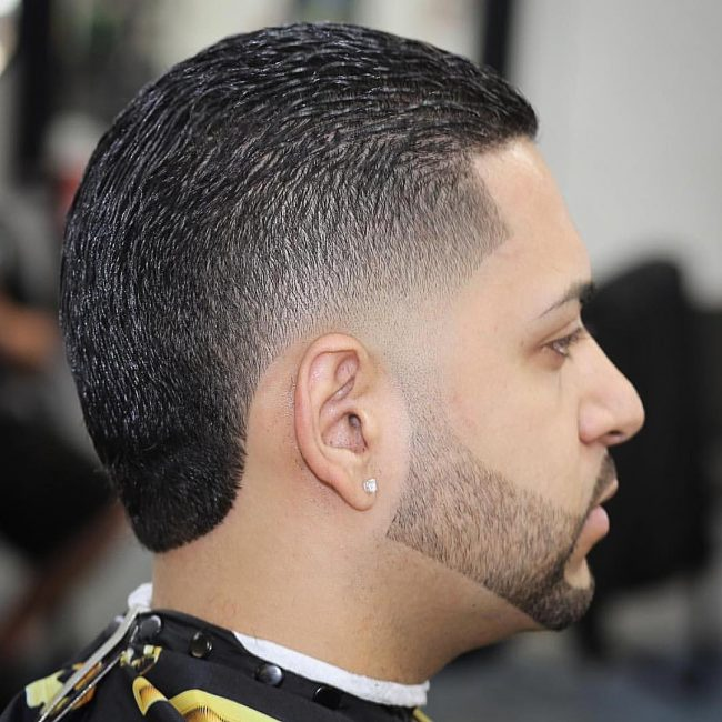 Slick Back with Zero Fade