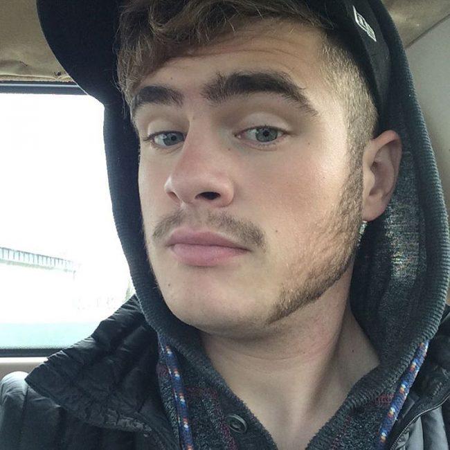 Split Moustache