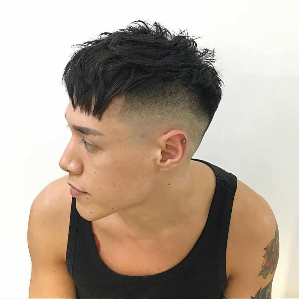 Фото причёсок на короткие волосы мужики