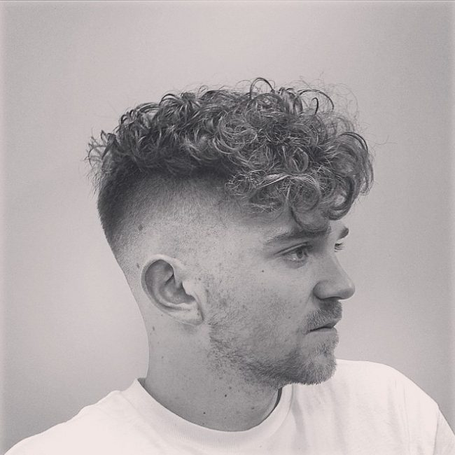 Stunning Curly Perm