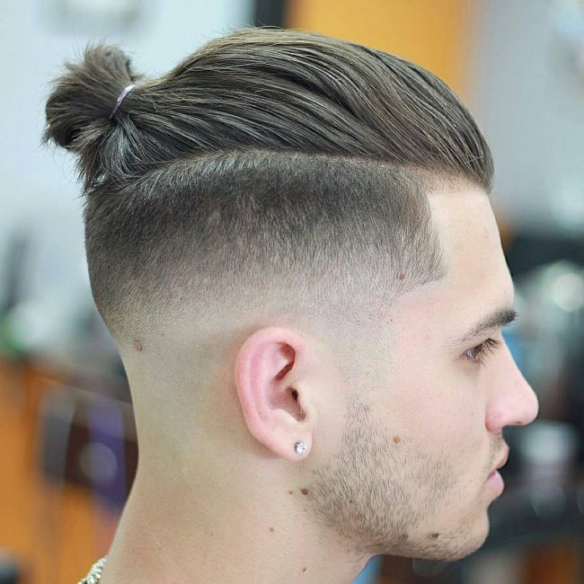 Tapered Man Bun