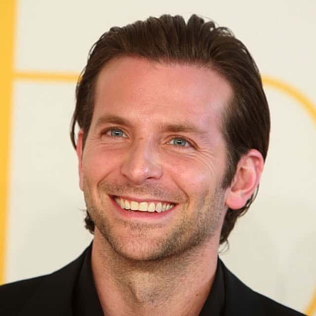 6 The Slick Back - 40 Heartwarming Bradley Cooper Hairstyles - (2017 Ideas)