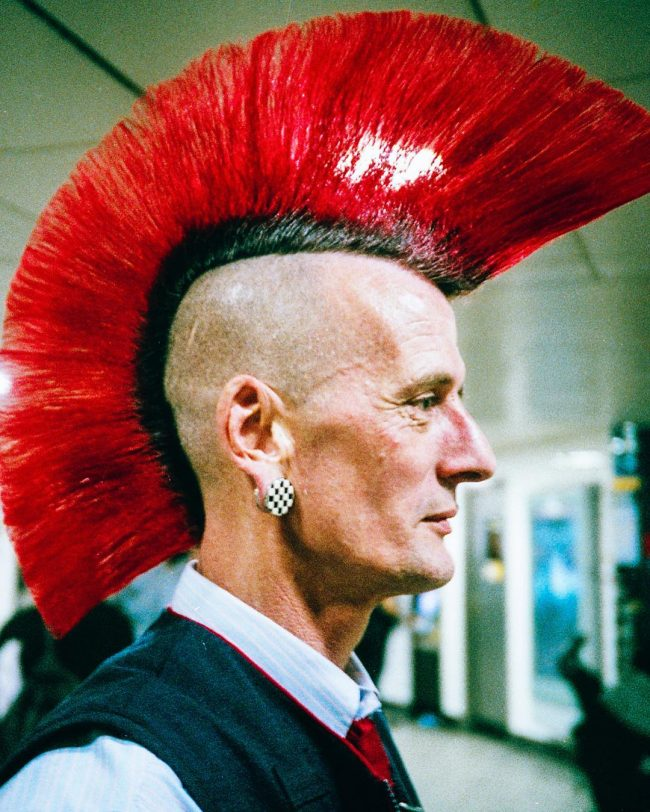 Thrilling Red Mohawk