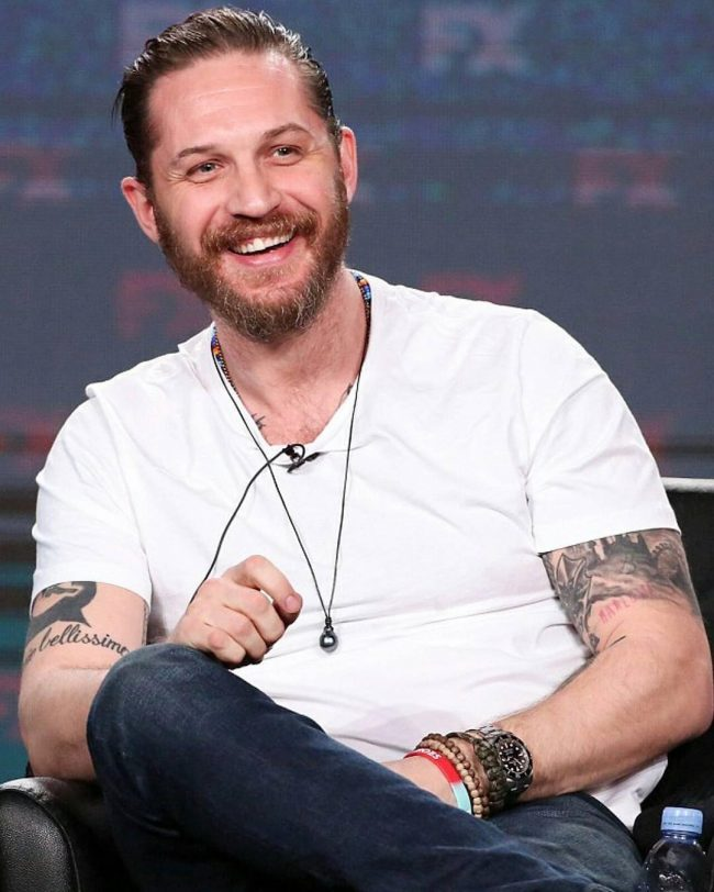 Tom Hardy's haircuts 22