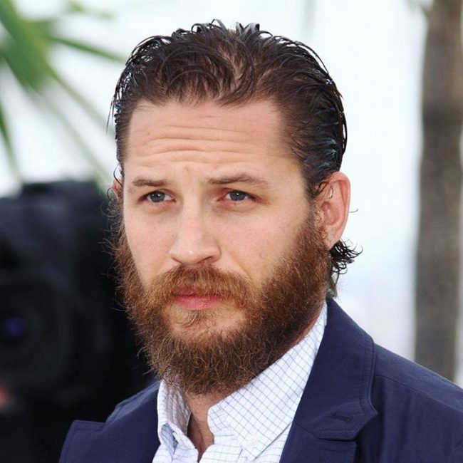 Tom Hardy's haircuts 25
