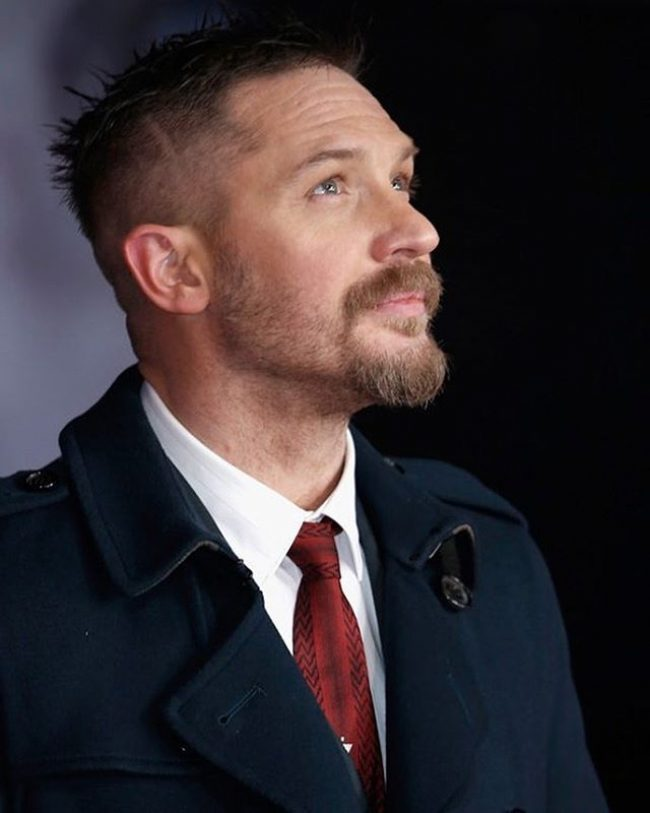 Tom Hardy's haircuts 26