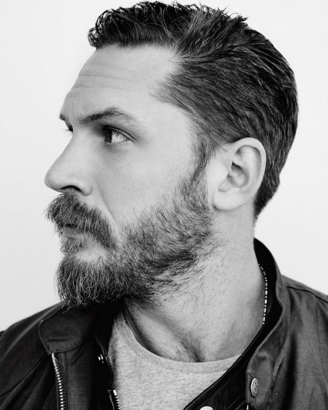 Tom Hardy's haircuts 27