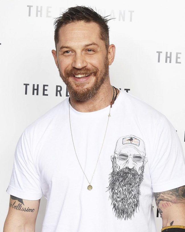 Tom Hardy's haircuts 30