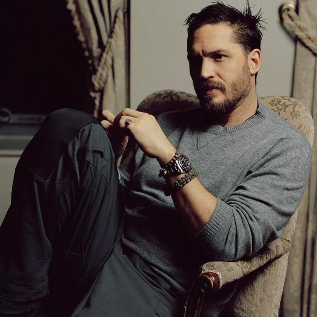 Tom Hardy's haircuts 32
