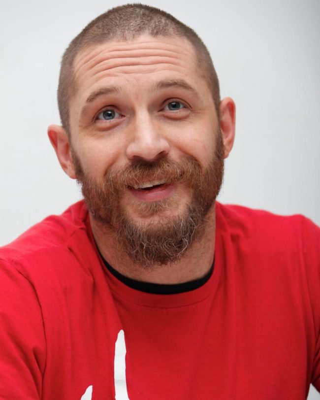 Tom Hardy's haircuts 34