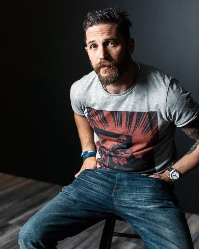 Tom Hardy's haircuts 35