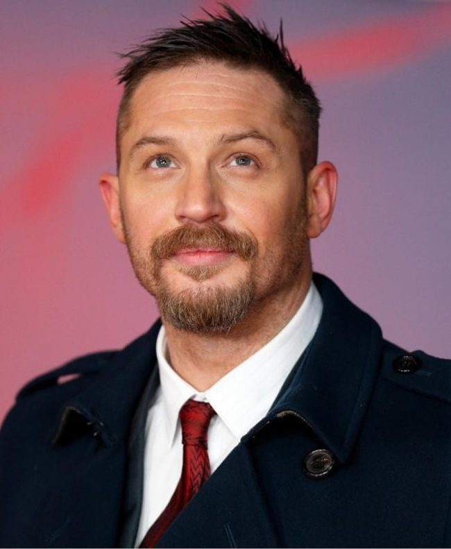 Tom Hardy's haircuts 36