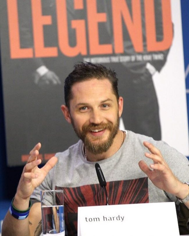 Tom Hardy's haircuts 37