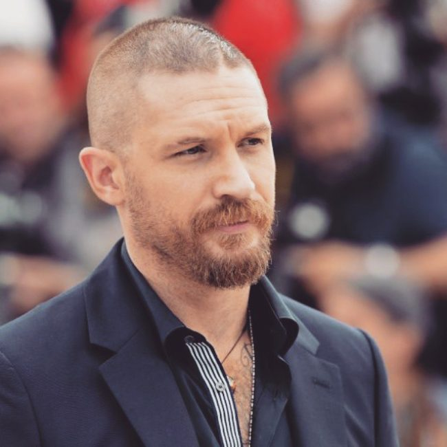 Tom Hardy's haircuts 39