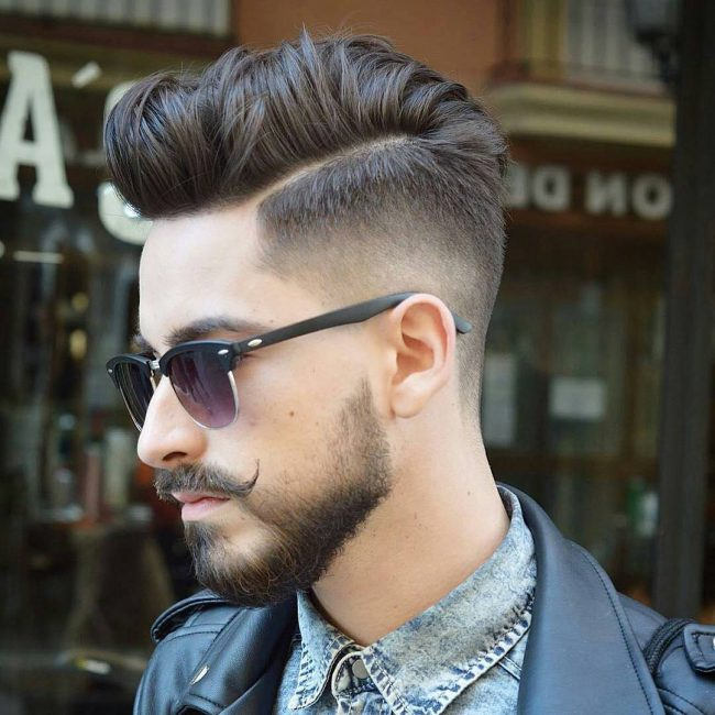 80 Powerful Comb Over Fade Hairstyles 2018 Comb On Over
