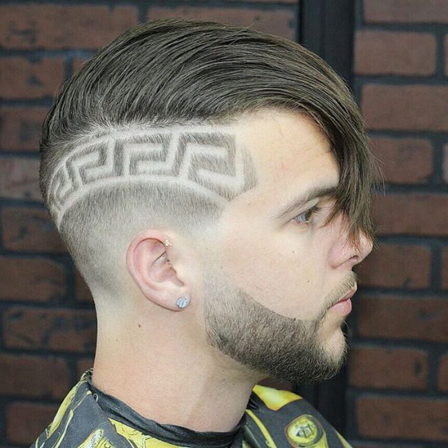 V-Cut Hair 26