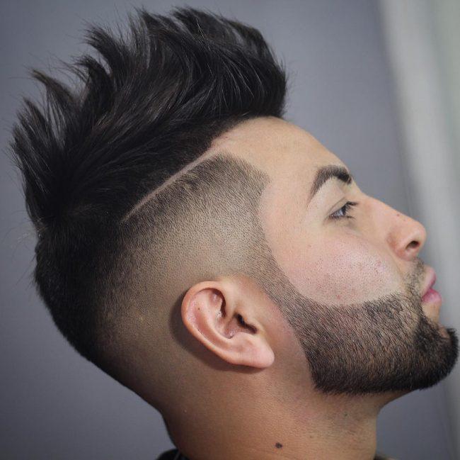 V-Cut Hair 37