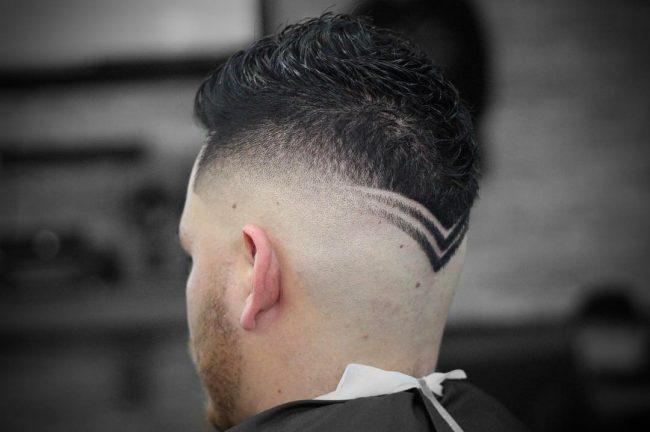 V Cut Hair 41
