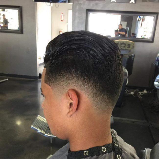 V-Cut Hair 43
