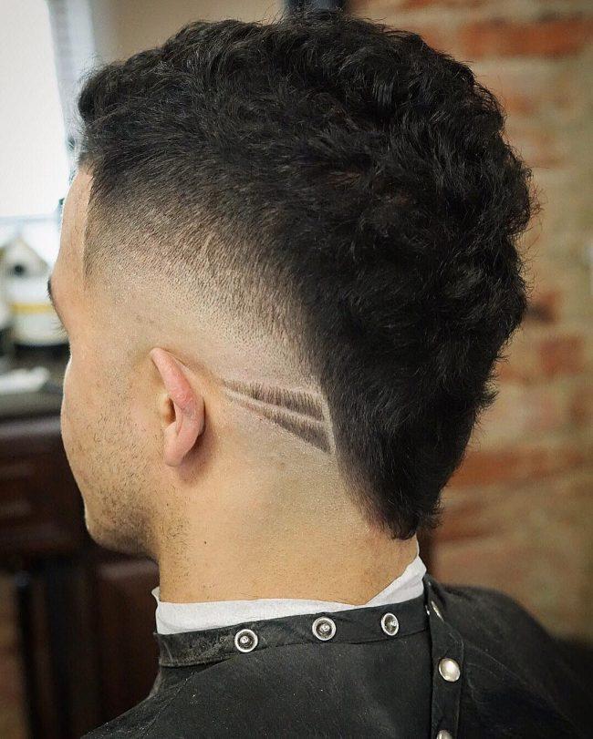 V-Cut Hair 45