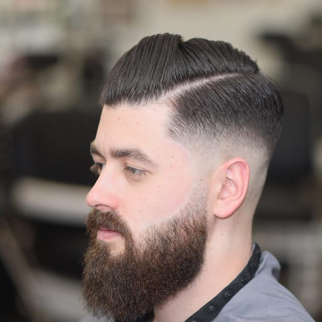 V Cut Hair 48