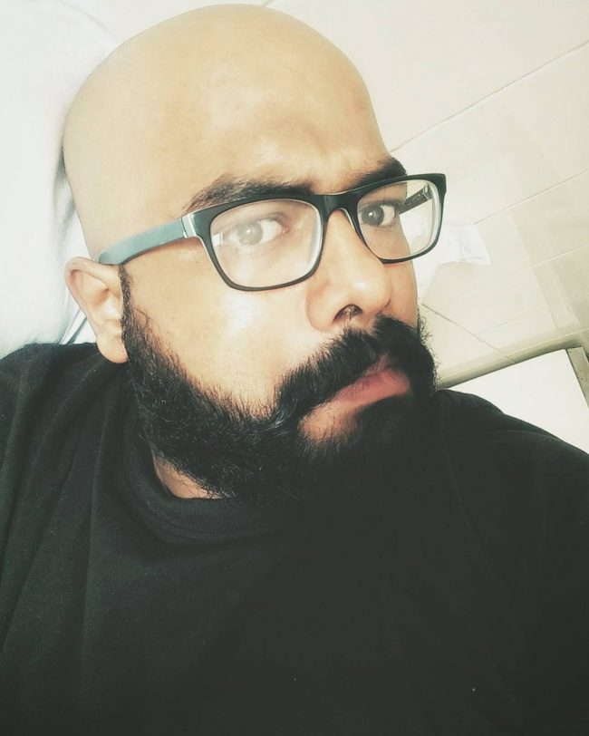 Villain Bald Look