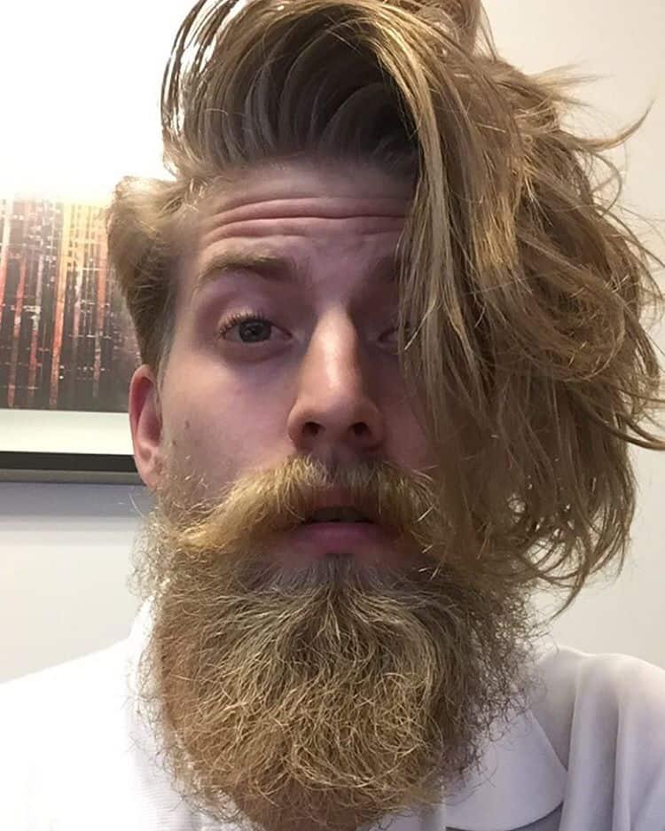 Wild Hair, Wilder Beard