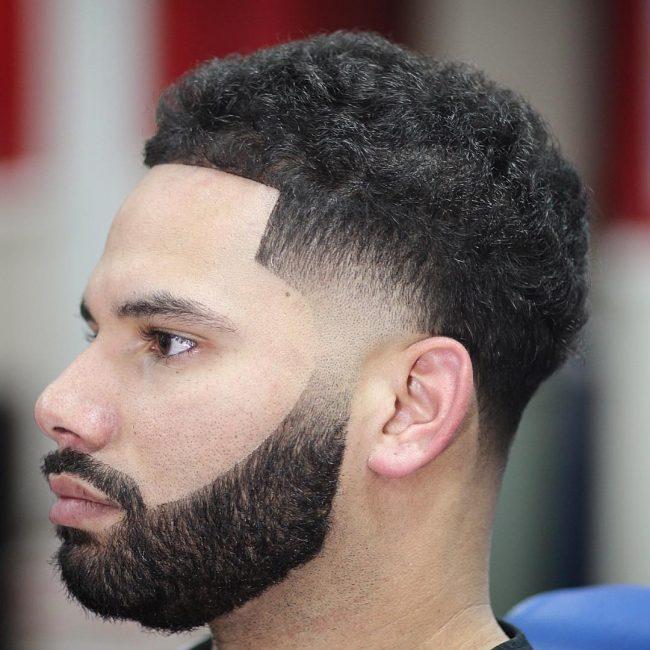 beard fade 45