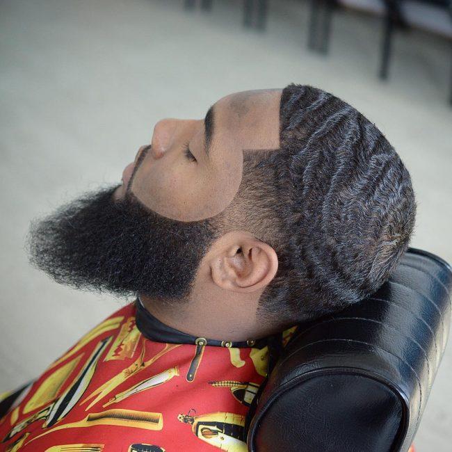 beard fade 49