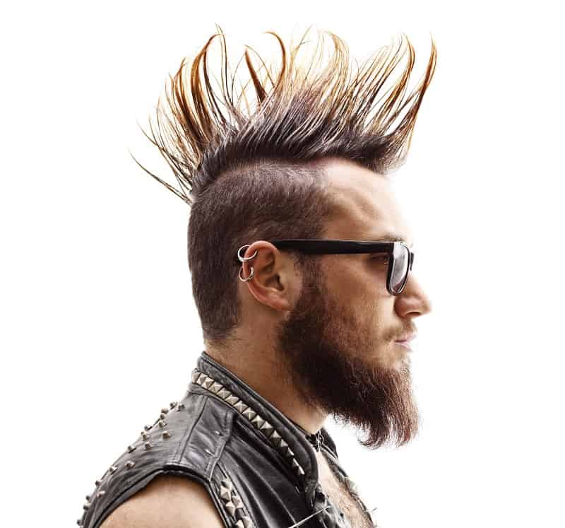 punk mohawk