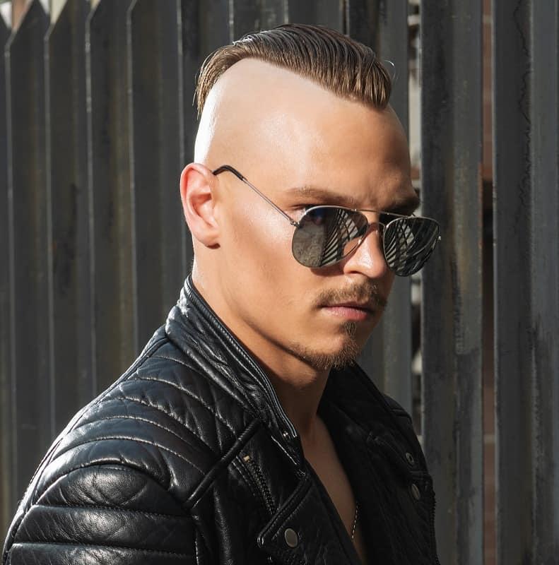 men's short punk haircut
