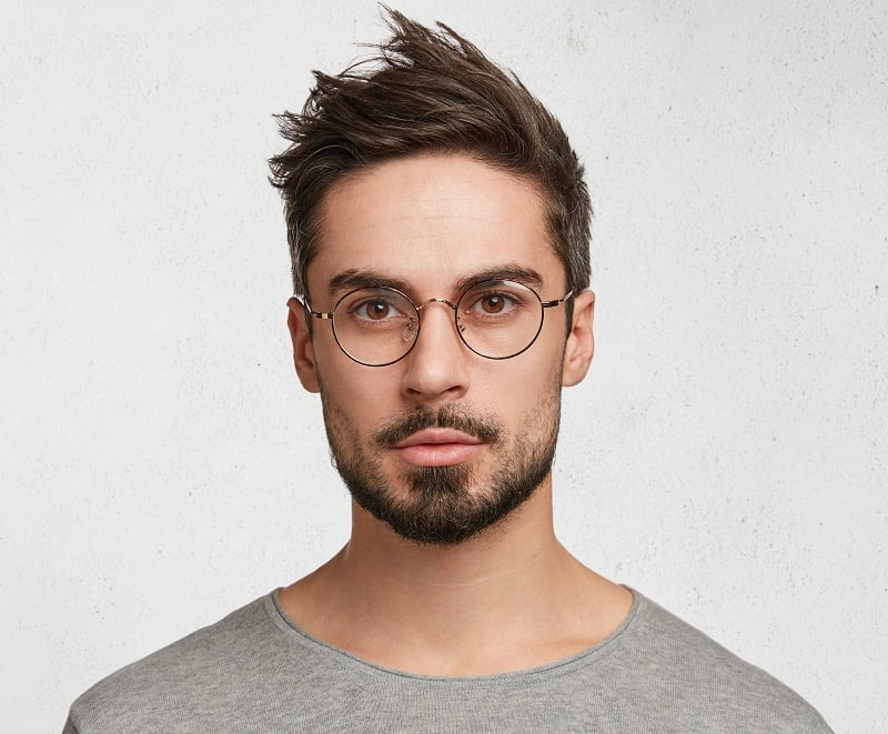 van dyke beard for hipster guys