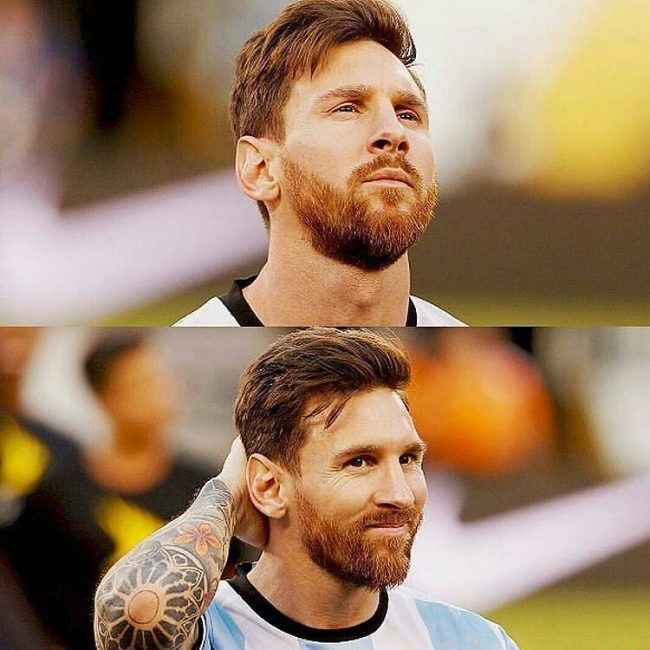 Rugged Messi