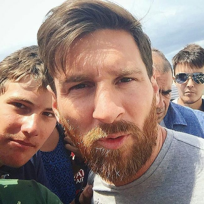 Messi Messy