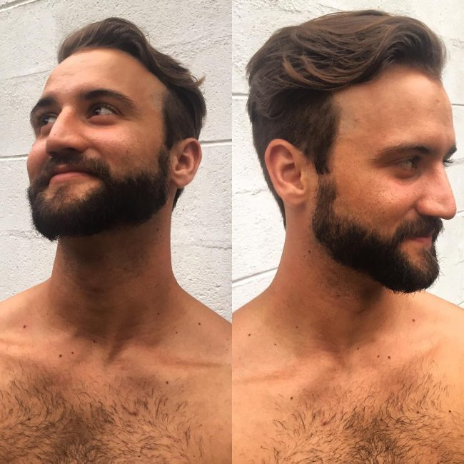 Wavy Side Sweep with Tapered Sides