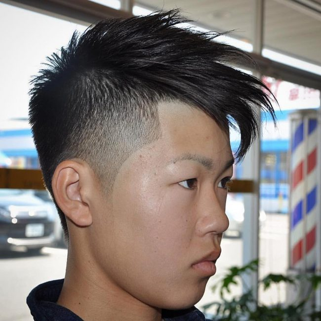 26 Feathered Bangs for Asian Men