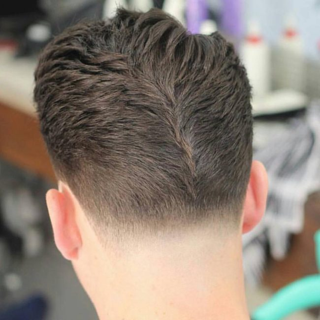 Backwards Taper Fade